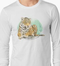 Feline print Long Sleeve T-Shirt