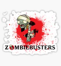 zombie busters (ghostbusters) Sticker