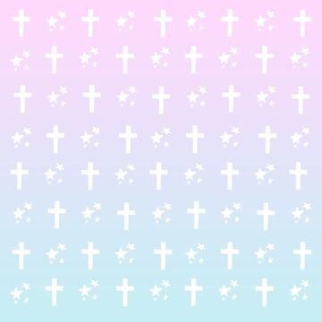 crosses 'n stars by wachtelralle