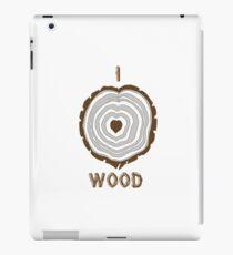 I Heart Wood iPad Case/Skin