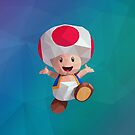Low Poly Art - Toad by giftmones