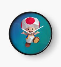 Low Poly Art - Toad Clock