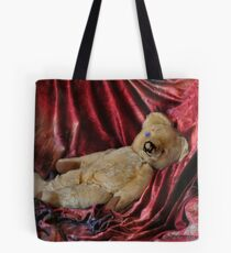 teddy reclining Tote Bag