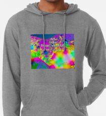 Art is the Proper Task of Life Lightweight Hoodie