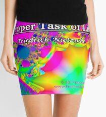 Art is the Proper Task of Life Mini Skirt