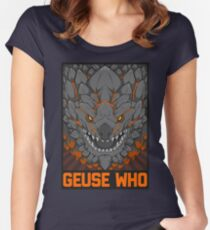 MONSTER HUNTER- Geuse Who Women's Fitted Scoop T-Shirt