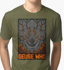 MONSTER HUNTER- Geuse Who Tri-blend T-Shirt