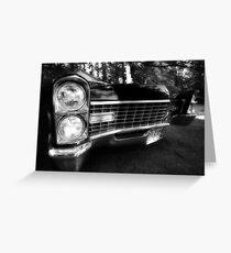 1967 Cadillac Greeting Card