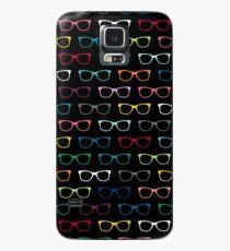 Buntes Hippie-Brillen-Muster Hülle & Skin für Samsung Galaxy