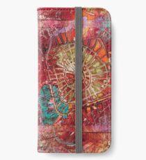 Monoprint Feminine Attitudenal iPhone Wallet/Case/Skin