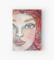 Monoprint Feminine Attitudenal Hardcover Journal
