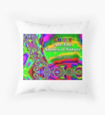 Colors Are The Smiles of Nature Floor Pillow