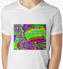 Colors Are The Smiles of Nature V-Neck T-Shirt