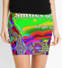 Colors Are The Smiles of Nature Mini Skirt