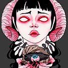 «demonia ojo en concha» de Galbrin