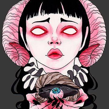 demon eye in shell by Galbrin