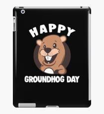 Cute Groundhog Day Apparel iPad Case/Skin