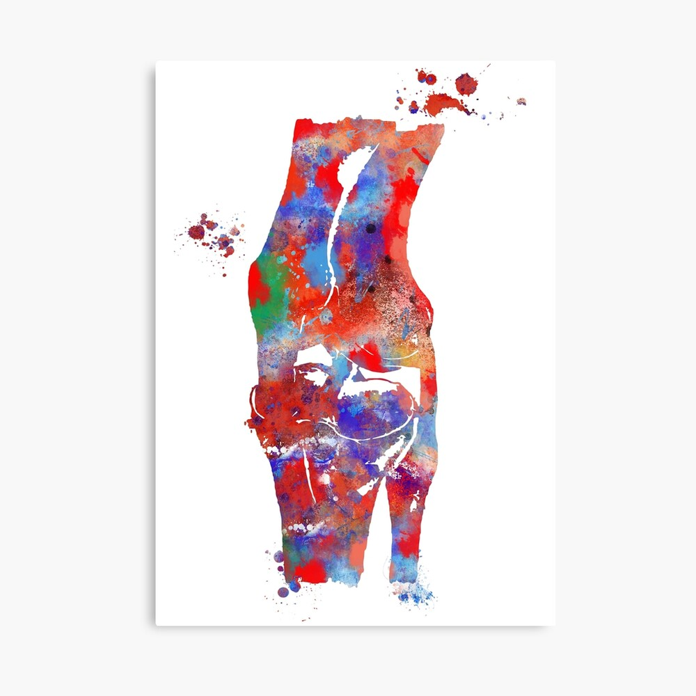 Modern Medical Art Water Color Canvas