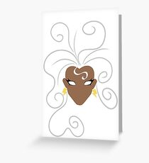 'Roro Greeting Card