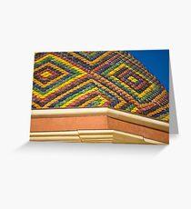 Alghero Roof Greeting Card