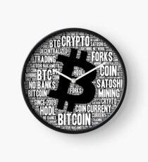 Bitcoin design Clock
