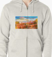 Continue Considering These Things Zipped Hoodie