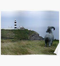 Lighthouse, Near Kinsale Poster