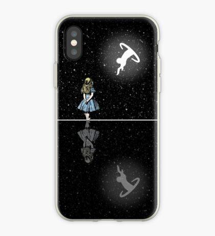 Siga El Conejo Blanco - Noche Estrellada Vinilo o funda para iPhone