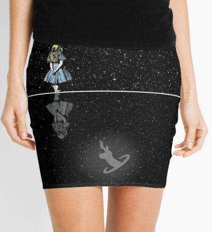 Siga El Conejo Blanco - Noche Estrellada Minifalda