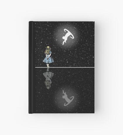 Siga El Conejo Blanco - Noche Estrellada Cuaderno de tapa dura