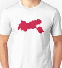 Tirol map austria T-Shirt