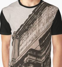 The Imperial Fora, Rome  Graphic T-Shirt
