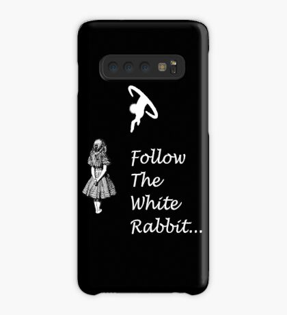 Seguir SigueEl Conejo Blanco Funda/vinilo para Samsung Galaxy