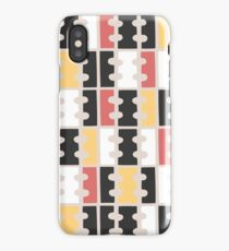 Geometric abstract pattern iPhone Case