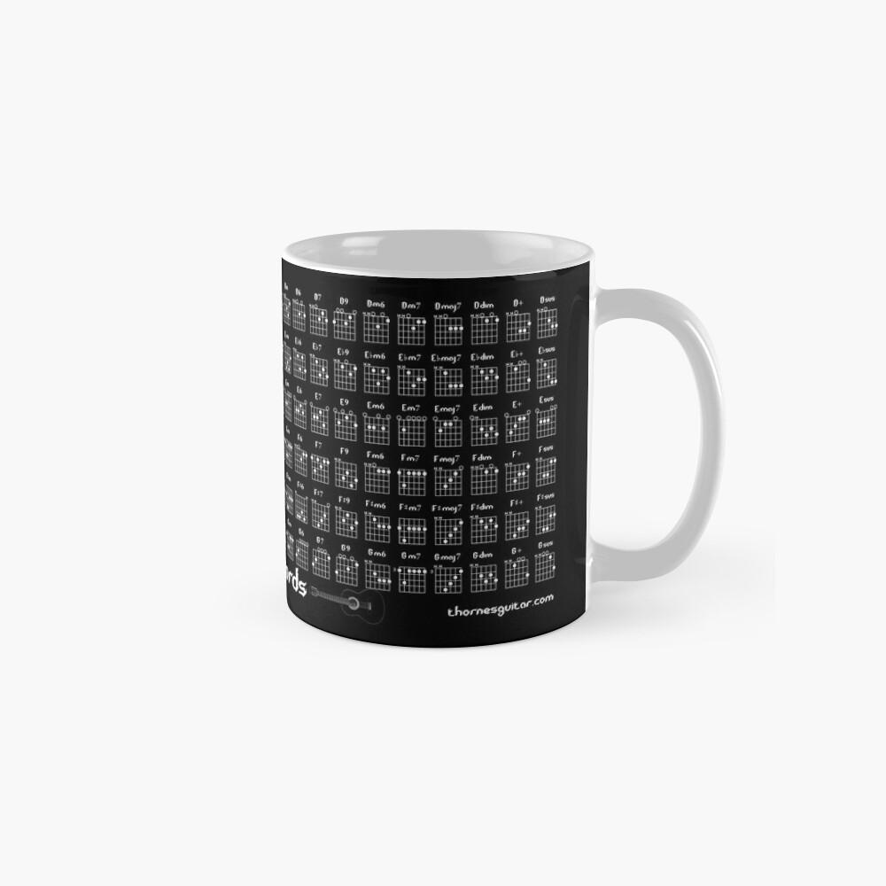 Guitar Chord Chart Standard Mug