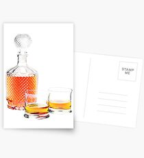 Whisky  Postcards