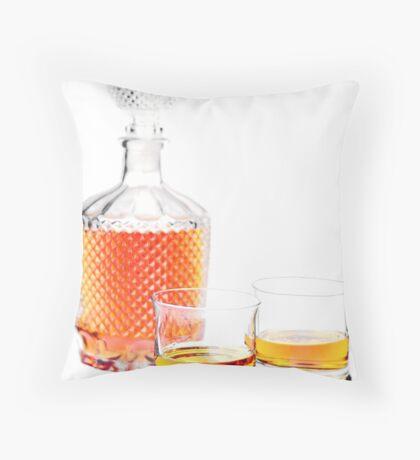 Whisky  Throw Pillow