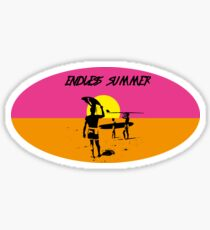 ENDLESS SUMMER - CLASSIC SURF MOVIE Sticker