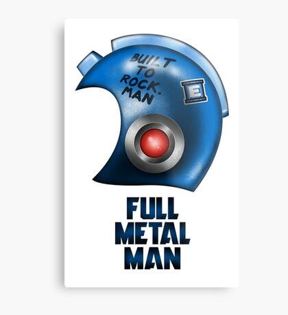 Full Metal Man Metal Print