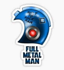 Full Metal Man Sticker