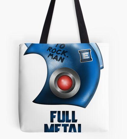 Full Metal Man Tote Bag