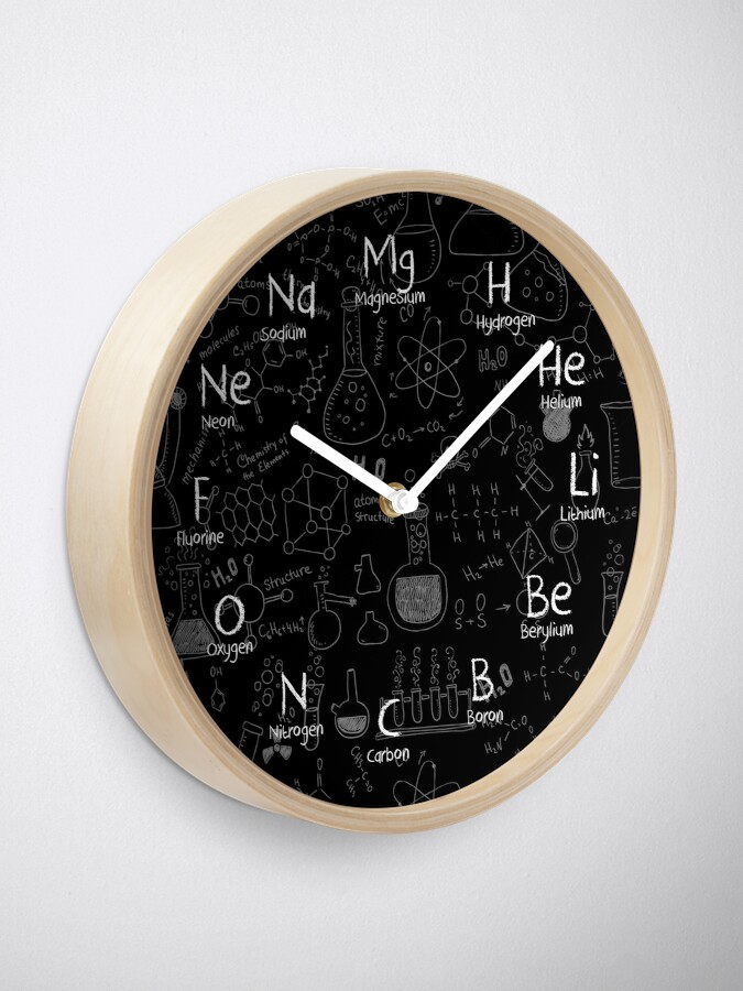 Alternate view of Chemistry Wall Clock Clock
