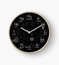Reloj Reloj de pared de química