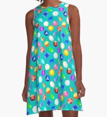 Gems A-Line Dress