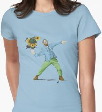 Van Goghsky Women's Fitted T-Shirt