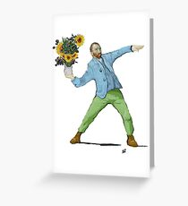 Van Goghsky Greeting Card