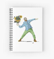 Van Goghsky Spiral Notebook