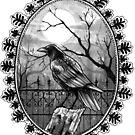 Inktober-Raven by FaerytaleWings