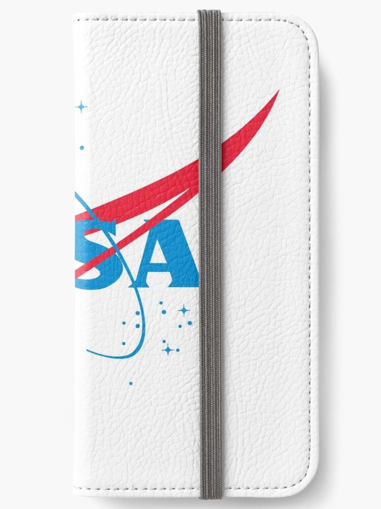 Nasa Logo Iphone Wallet By Zackziegler