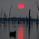 'A smokey sunset' by Kat36